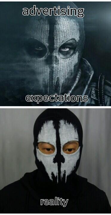 COD Ghost  - meme