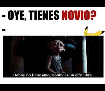 Dobby es libre - meme