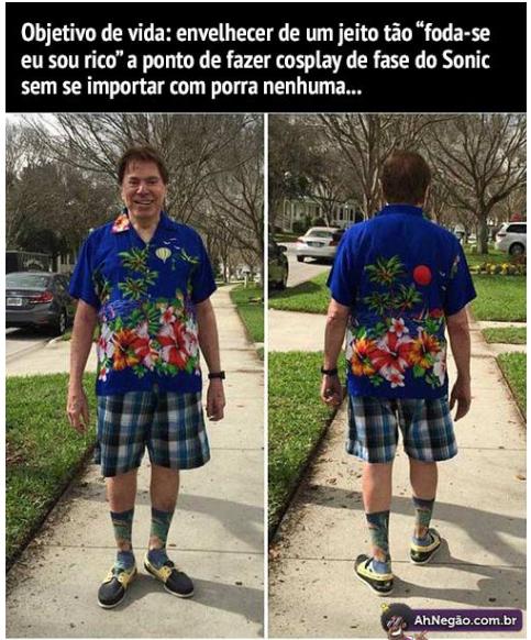 Silvio Santos N é da GLOBO - meme