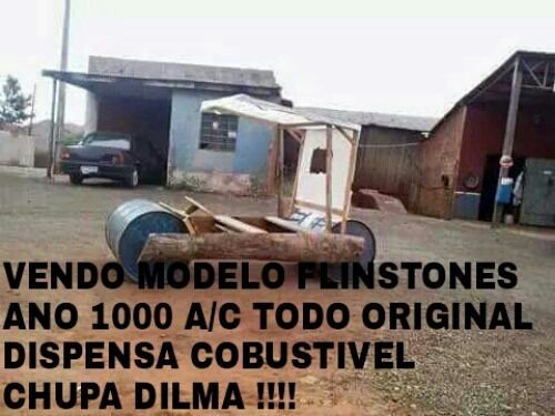 Dilma trouxa - meme