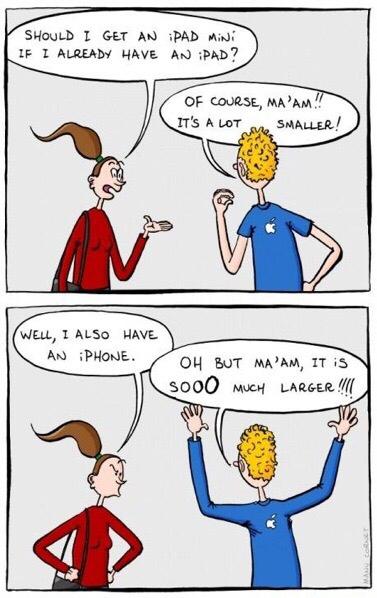 Apple logic - meme