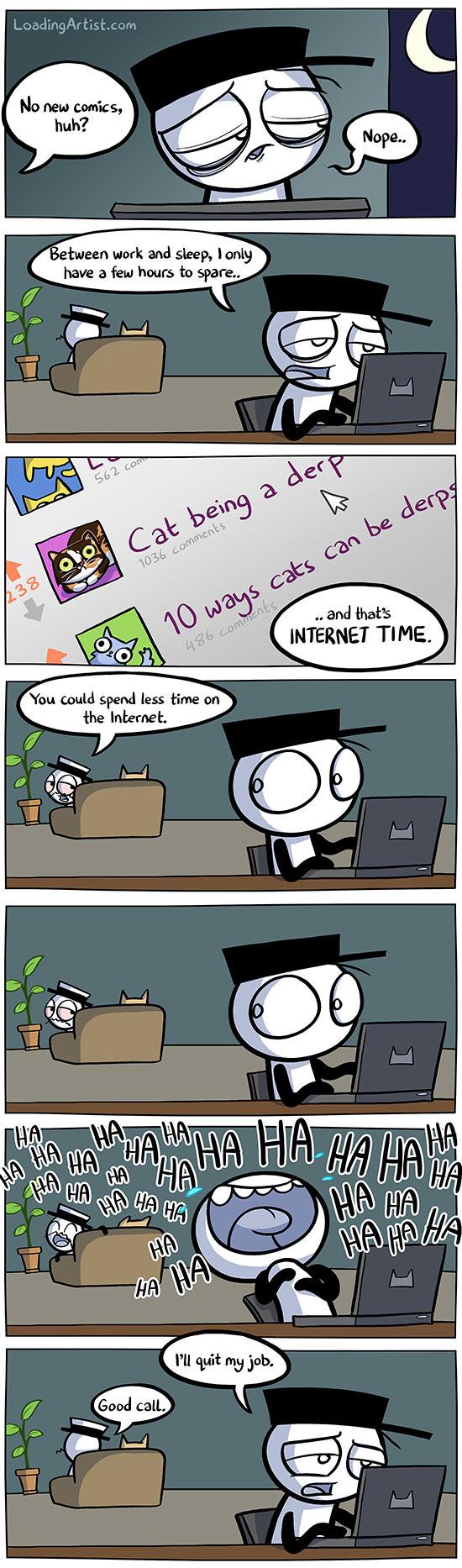 The Internet - meme