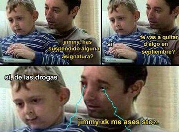 Jimmy por favor - meme