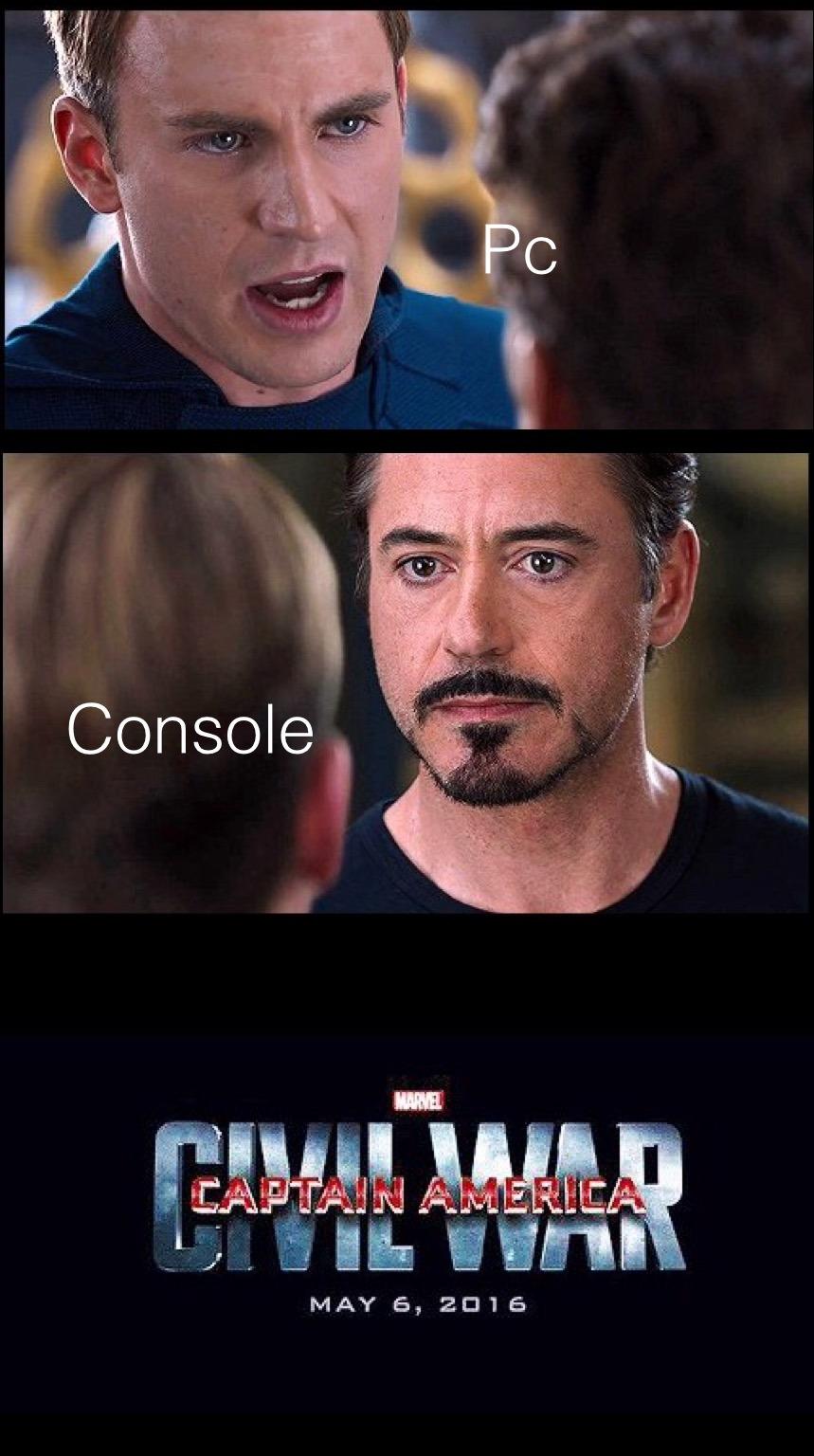 Game wars - meme