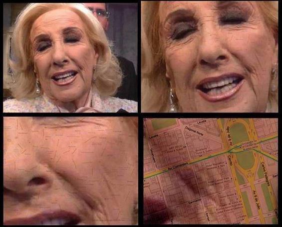 """Mirtha """"Mapas locos"""" Legrand - meme"""