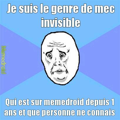 Invisible - meme