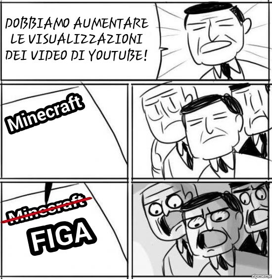 Mimecraft + figa = over naintausand vius - meme