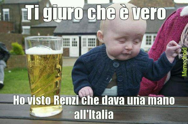 Ah...Renzi...Renzi - meme
