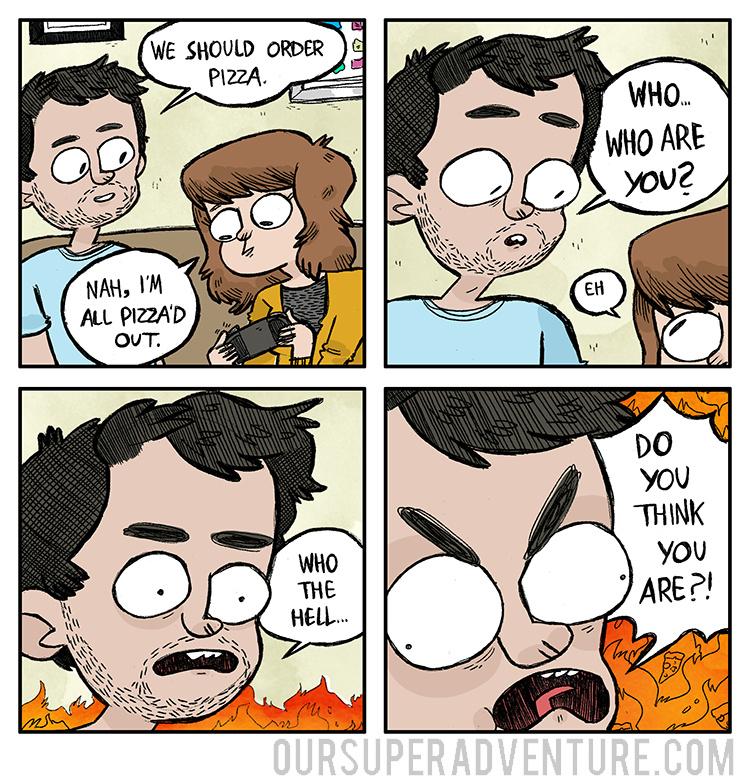 Our Super Adventure. Great webcomic. - meme