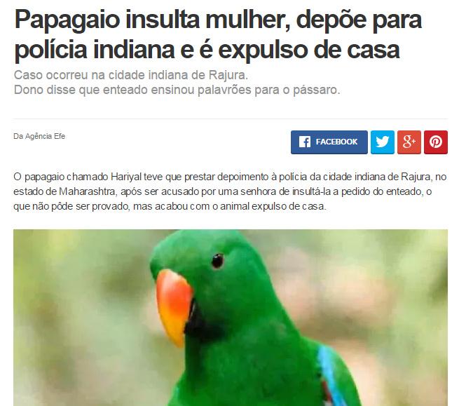 Papagaio com genes br - meme
