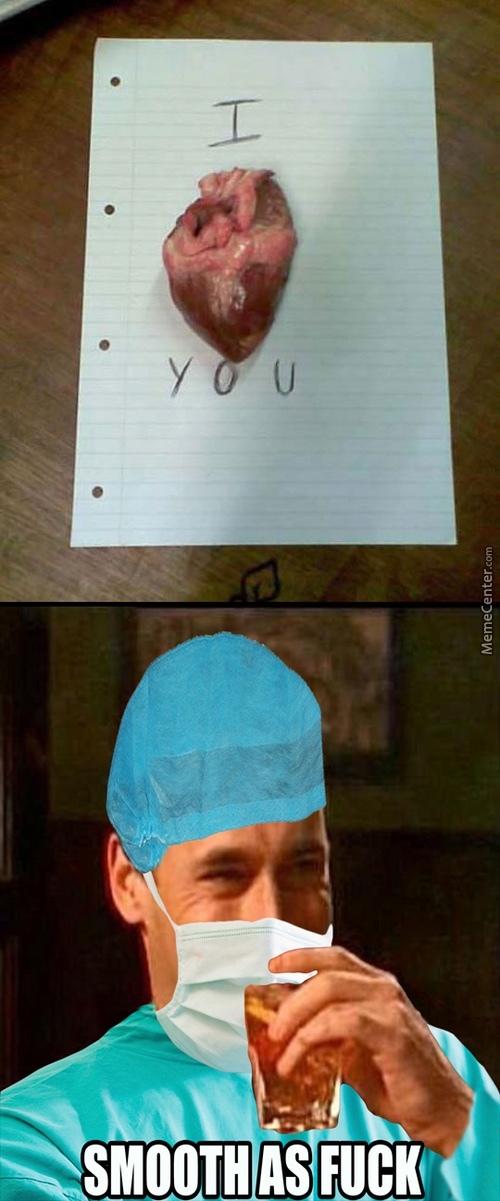 How Med students confess. - meme
