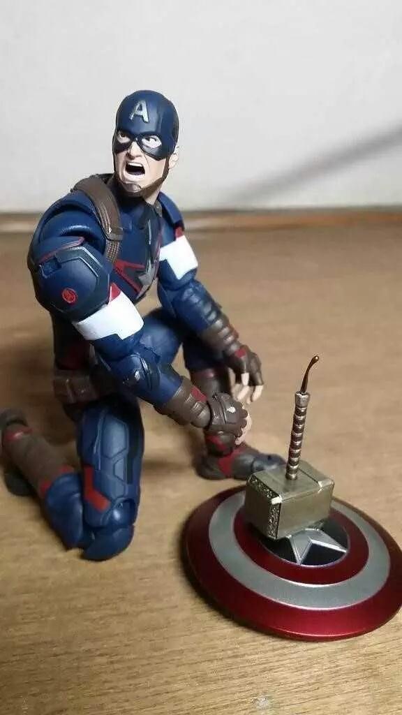 Captain American't :P - meme