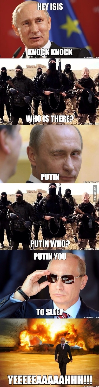 Putin badass das kebrada - meme