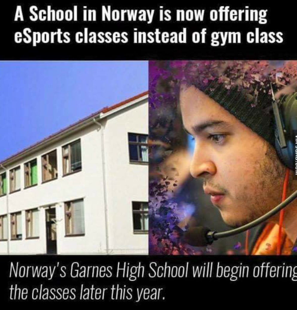 Come to Norway everyone - meme
