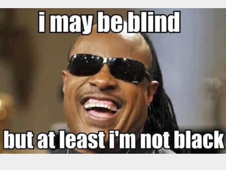 the blind man - meme