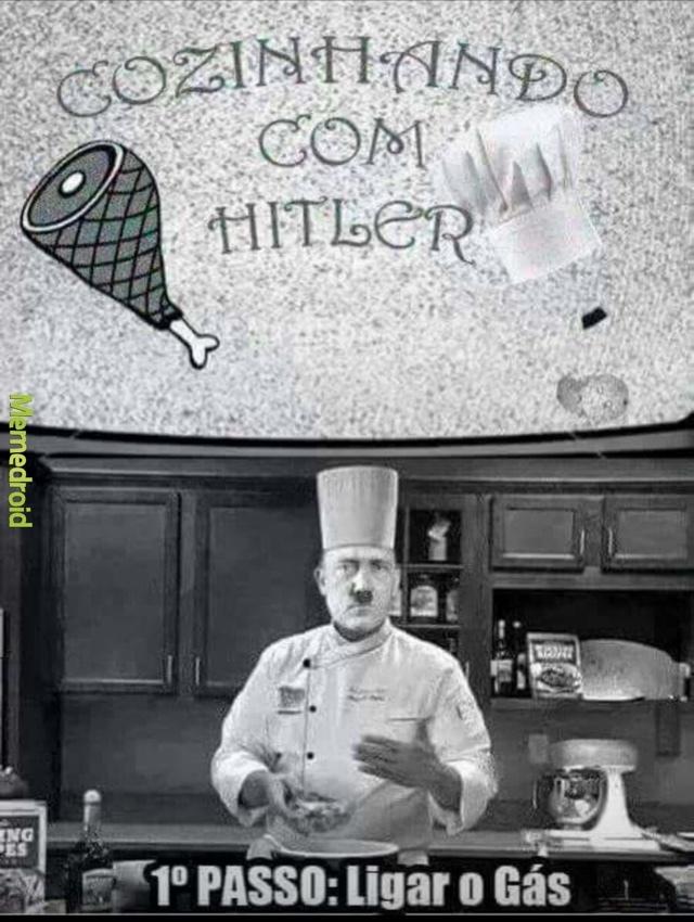 Vamos aprender a fazer pizza - meme