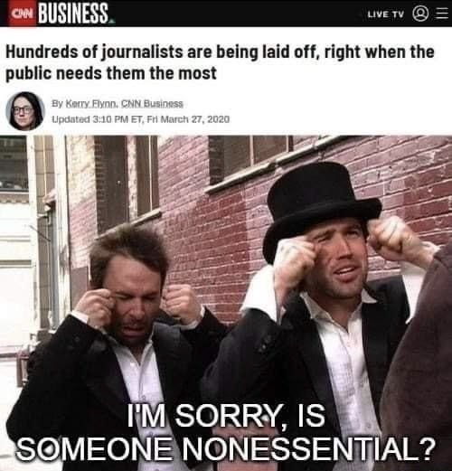 Fuck journalists - meme