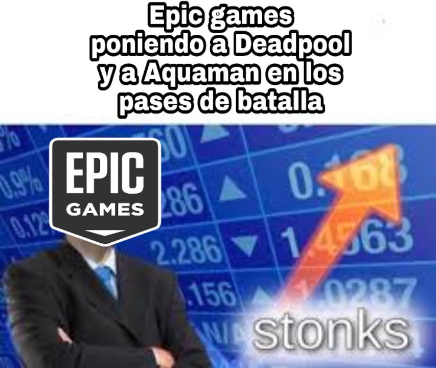 Epic games - meme