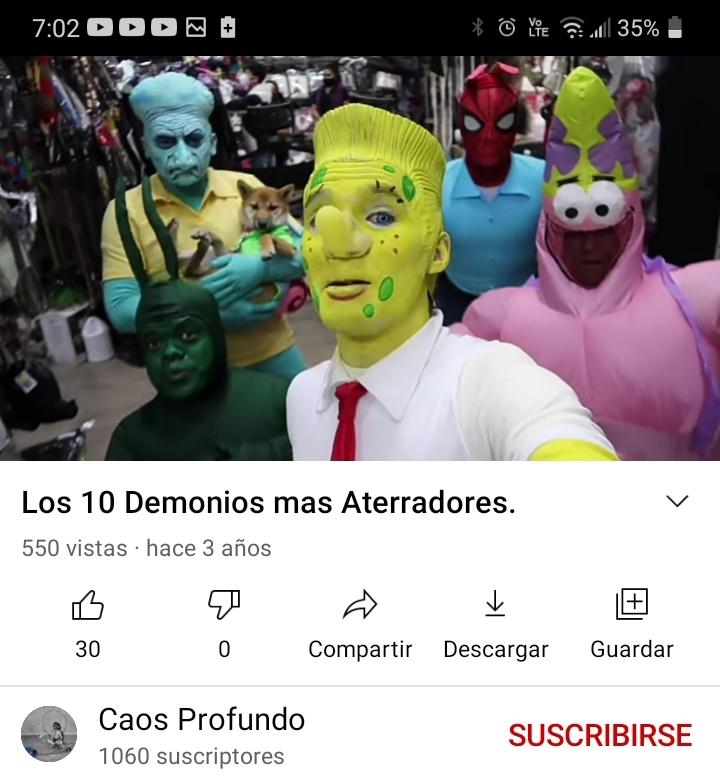 El titulo se asusto - meme