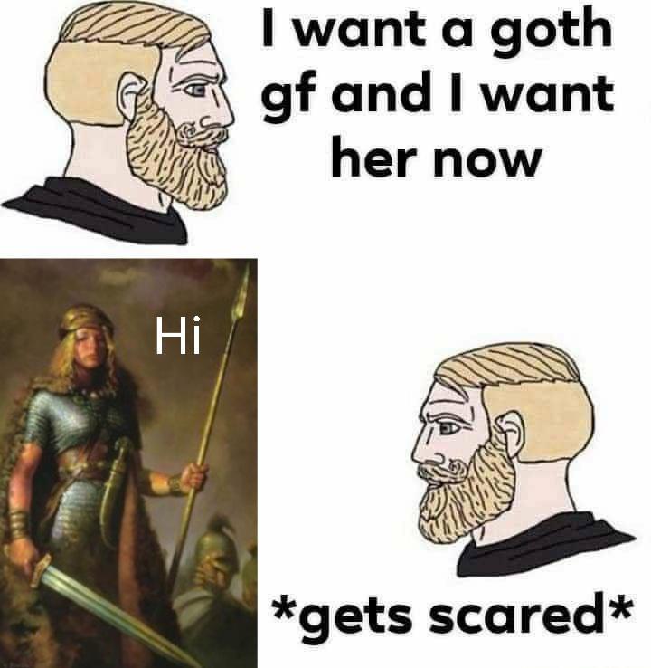 Goth gf - meme
