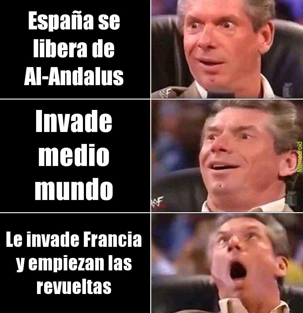 Pobre Españita, que te hicieron? - meme