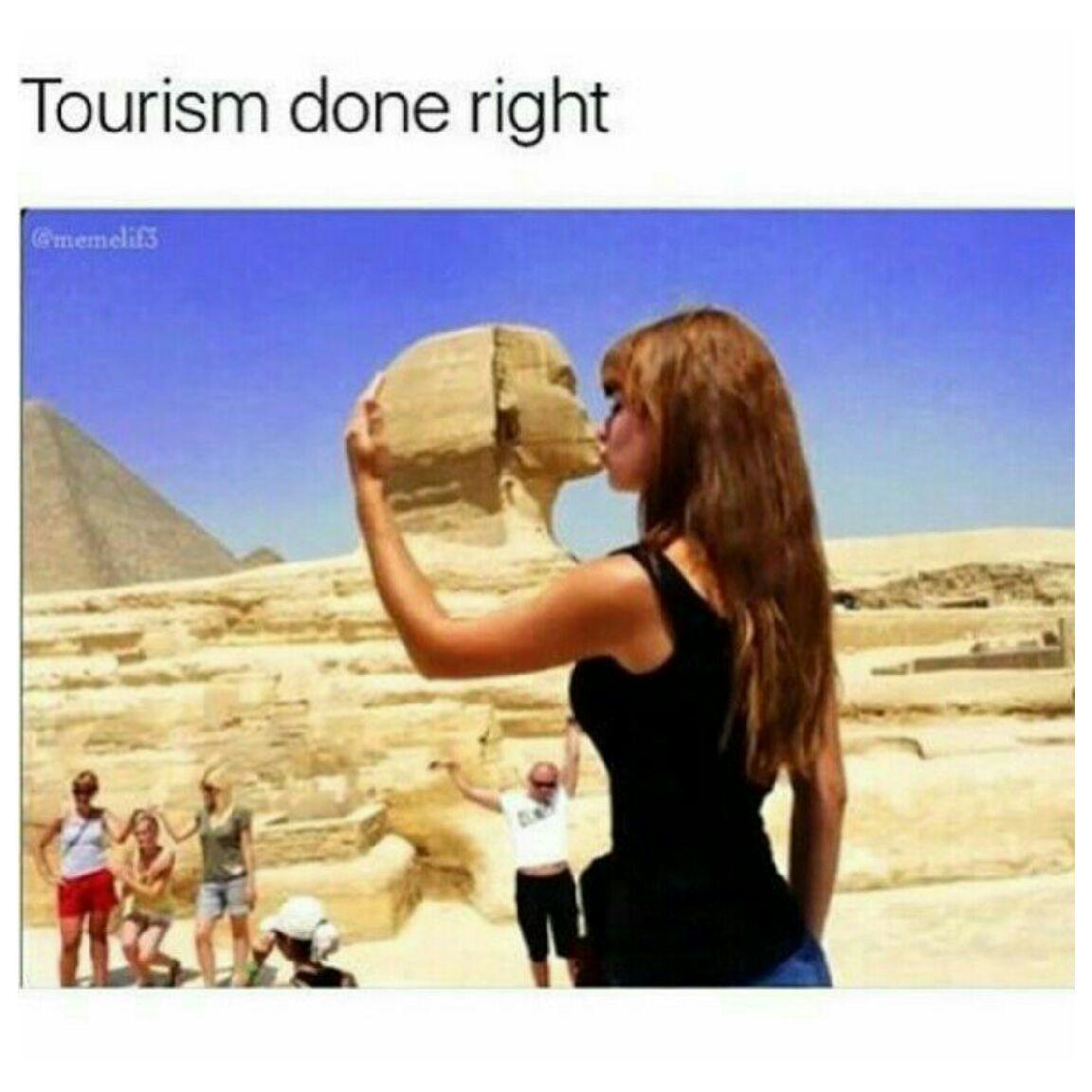 Tourism - meme