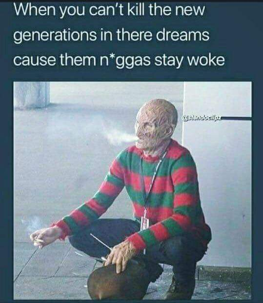 Stay woke - meme