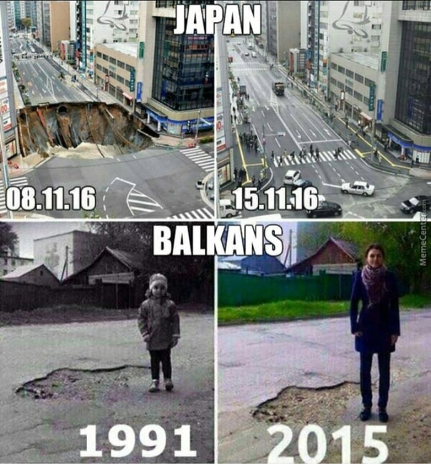 Only in Balkan - meme