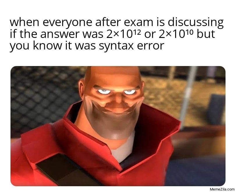 top text - meme
