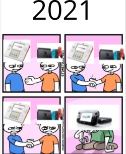2021: - meme