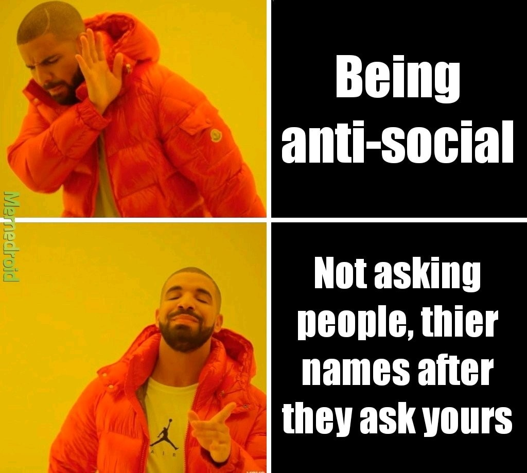 Anti social - meme