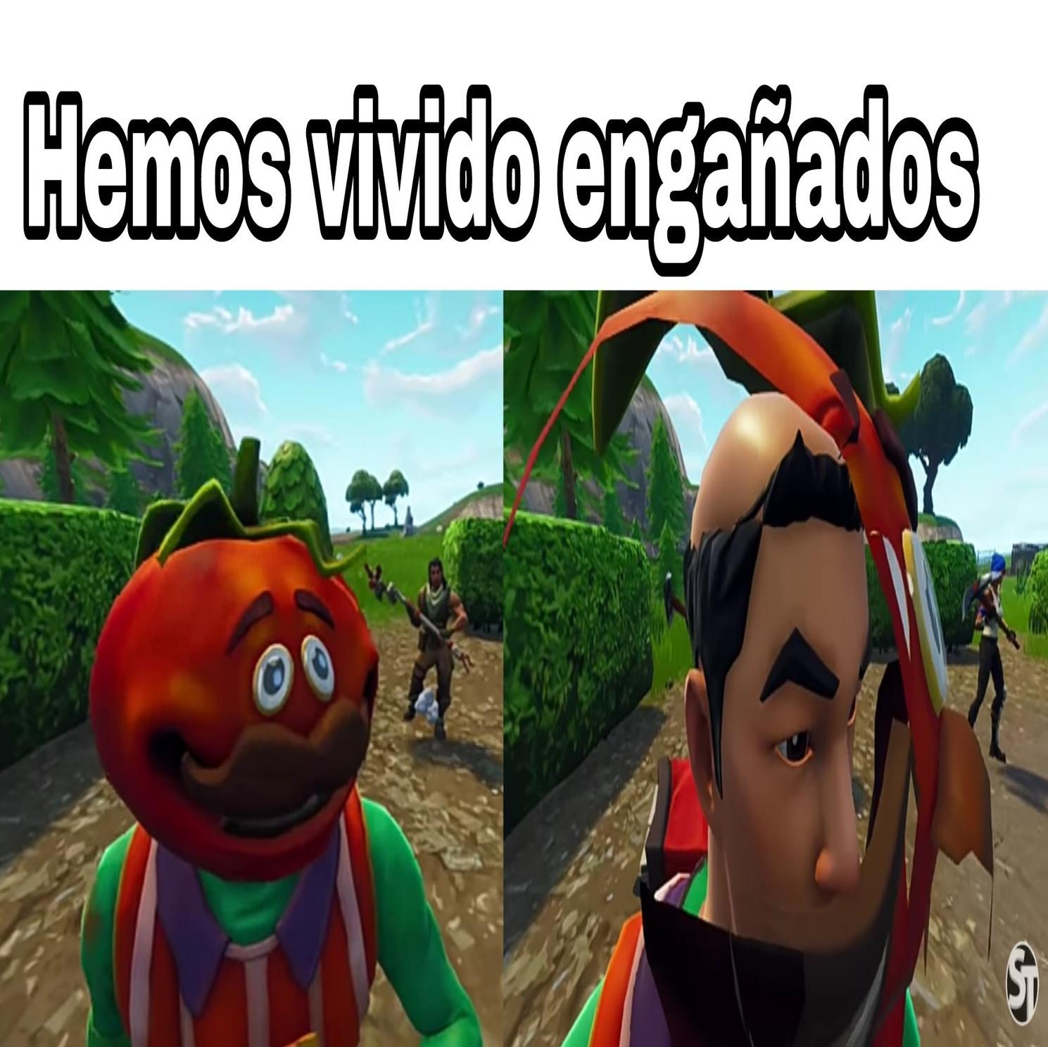 No es un señor tomate... - meme