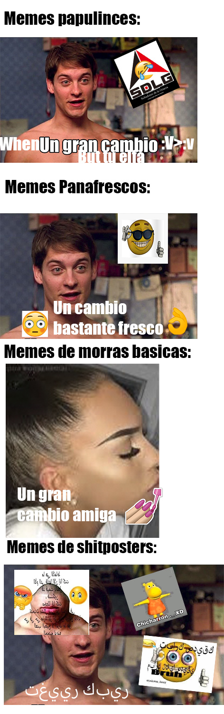 que tipo de meme prefieren?