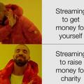help the charities peeps
