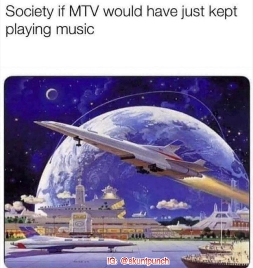 MTV is trash - meme