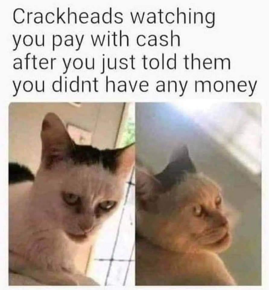 I love crack - meme