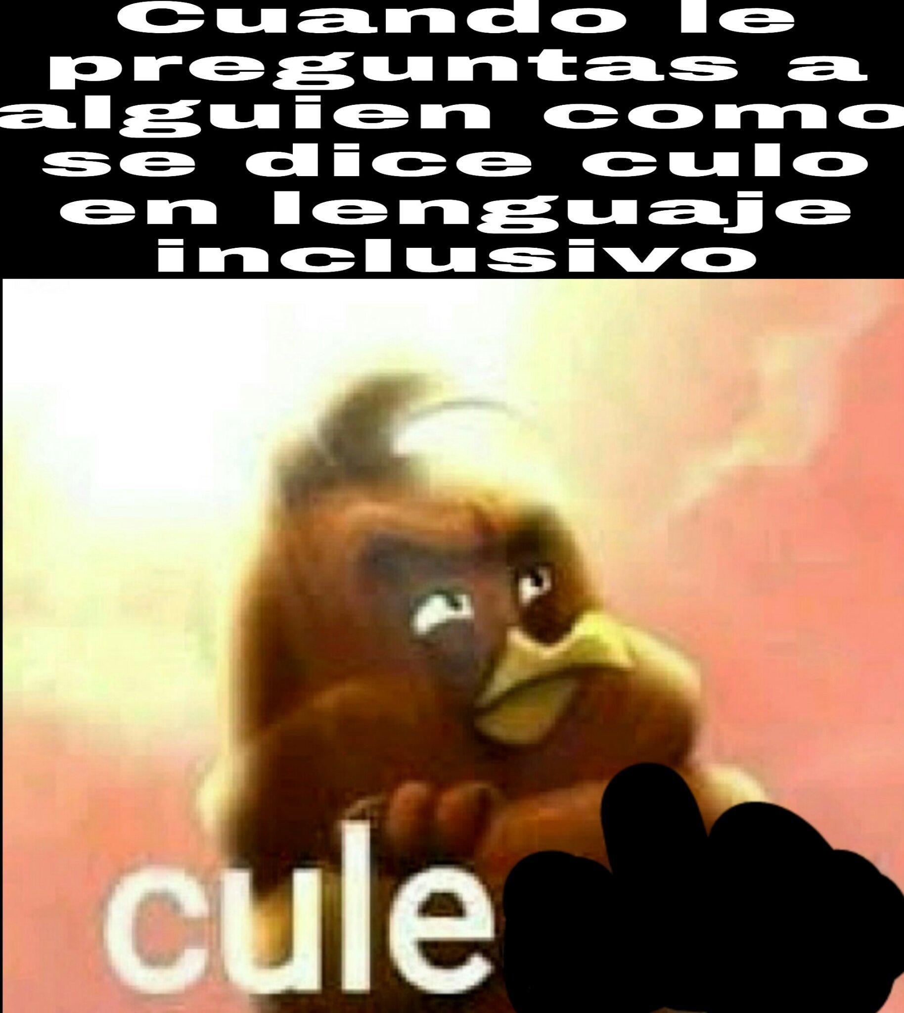 Cule ._.XD - meme