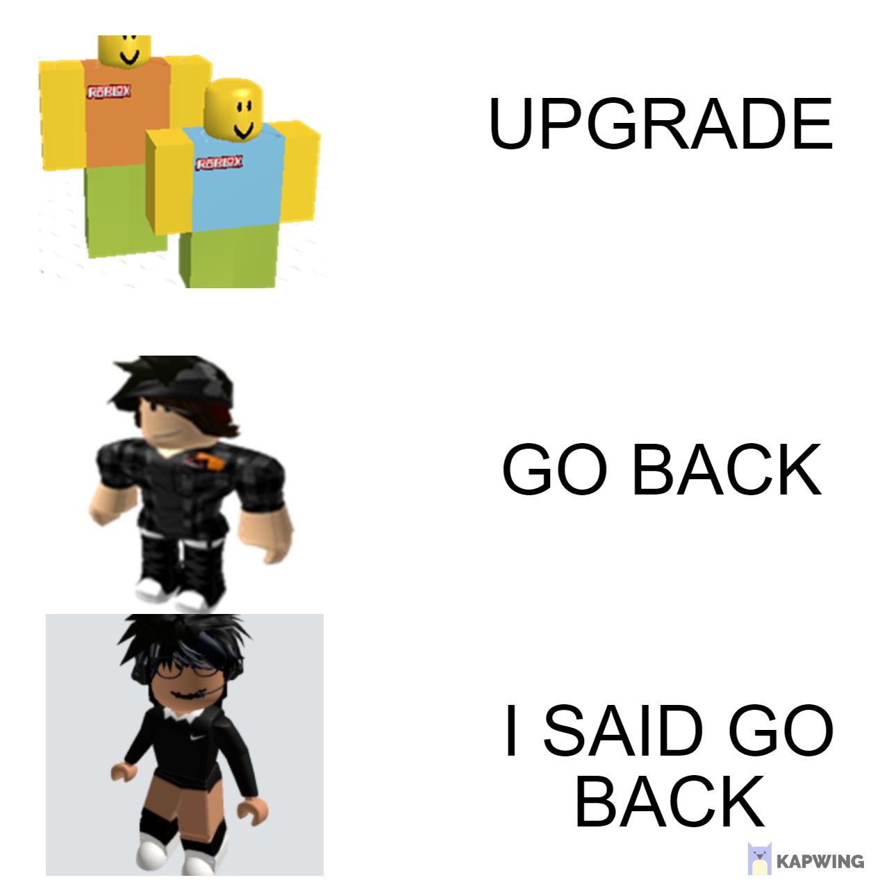Roblox Upgrade - meme