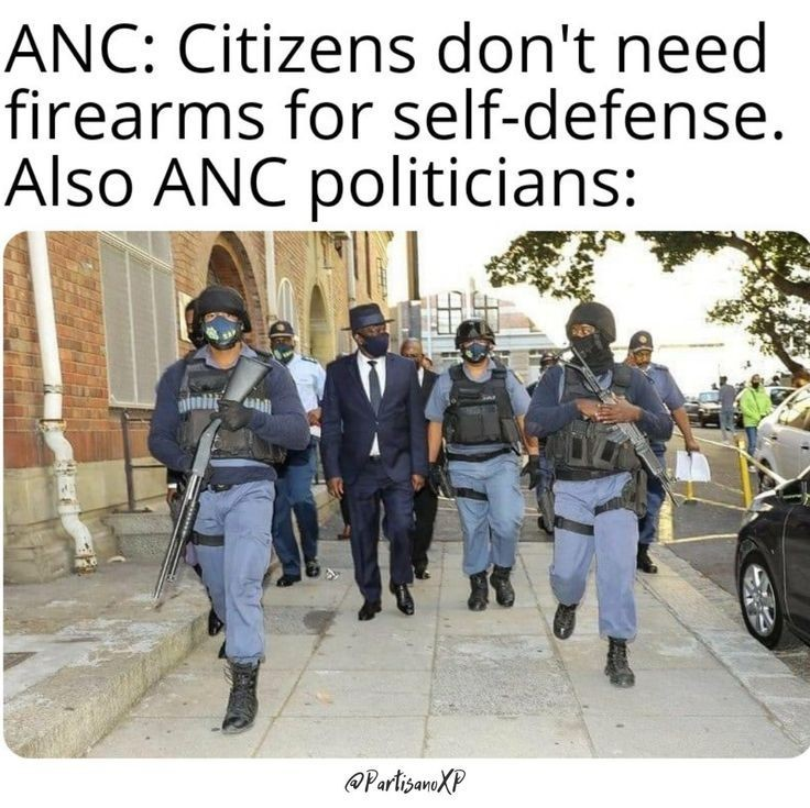 South African law - meme