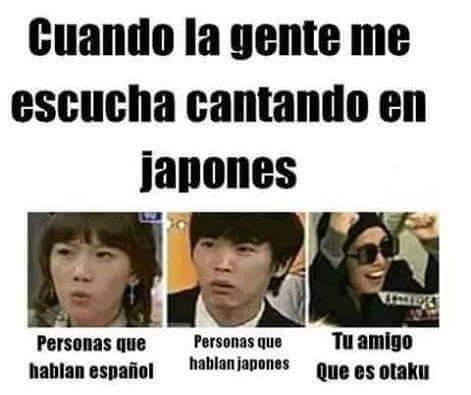 Soy otaku.  ._. - meme