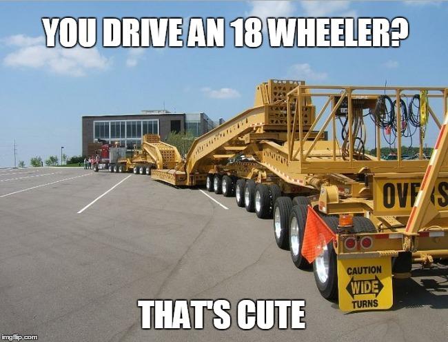 Heavy haul - meme