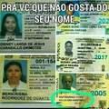 Pelo visto nao é so brasileiros q gosta de nomes peculiares