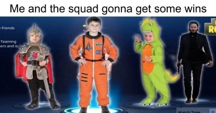 Orginal skins best - meme