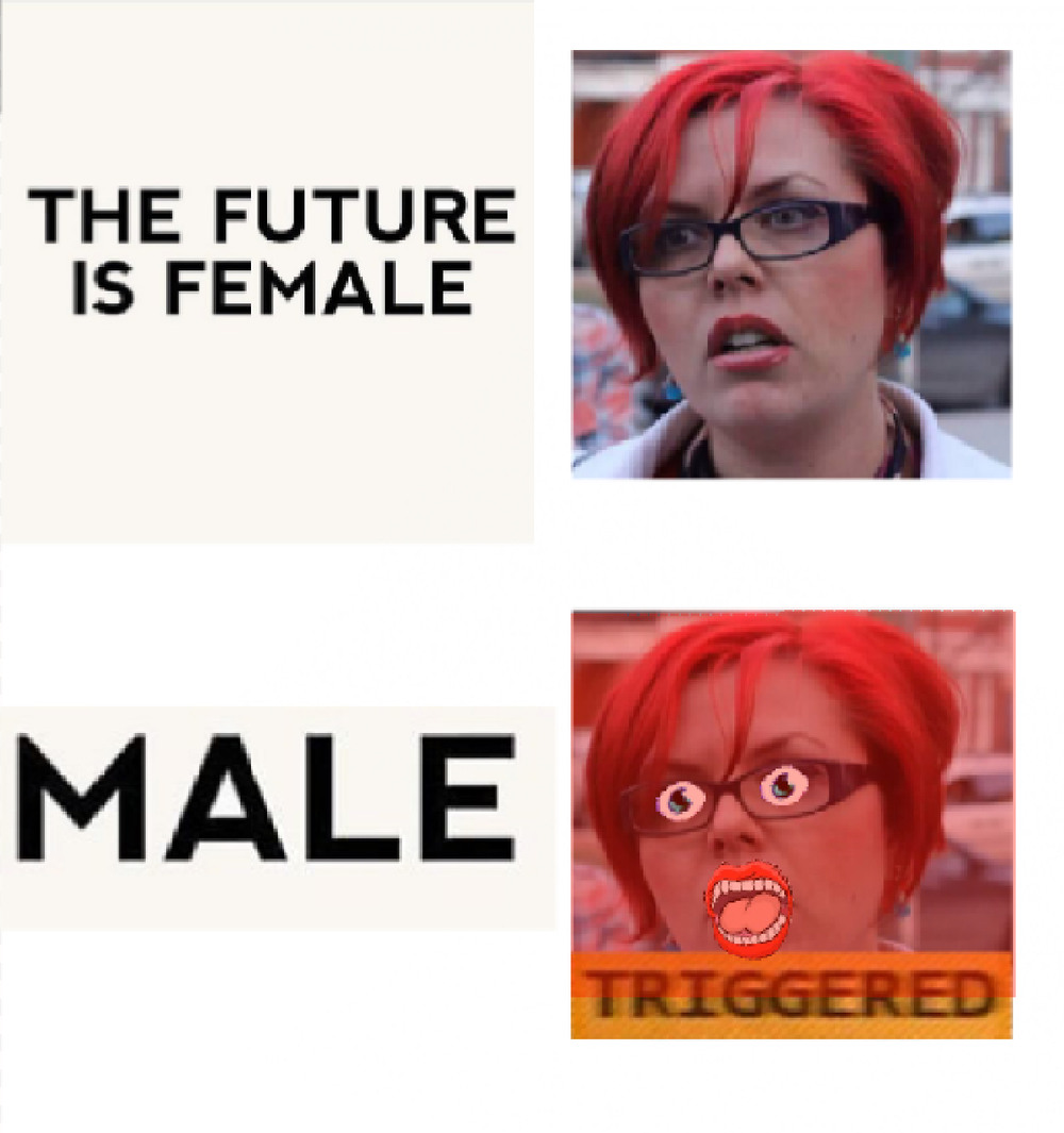 The future is feMALE - meme