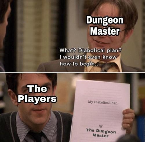RPGs in a nutshell... - meme