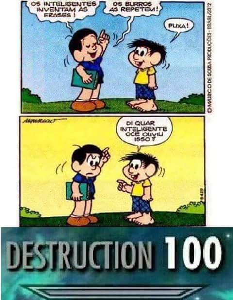 DESTRUCTION - meme