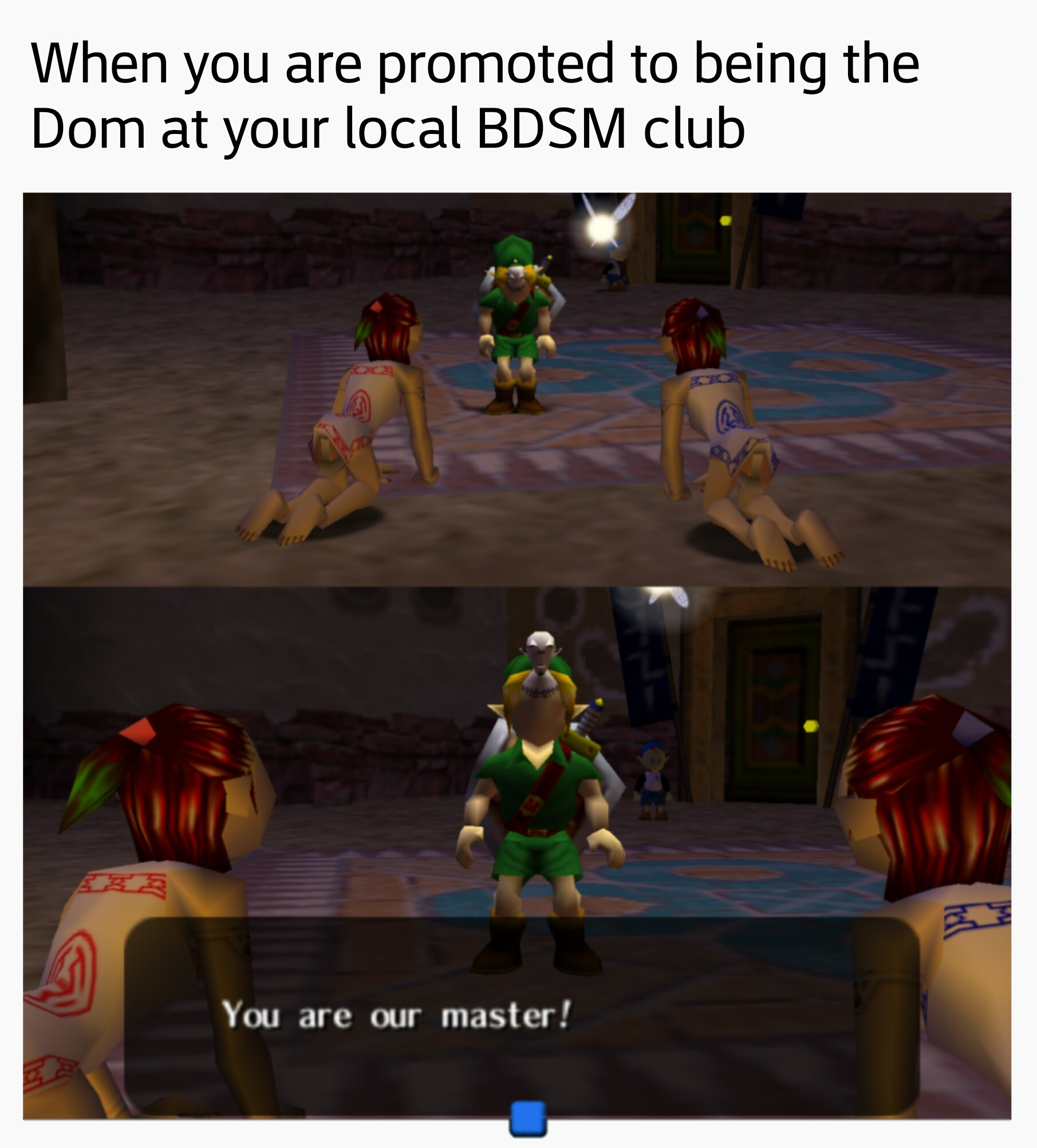 "Dom :  (noun) Short for ""Dominant."" The dominant person in a BDSM relationship or encounter. - meme"