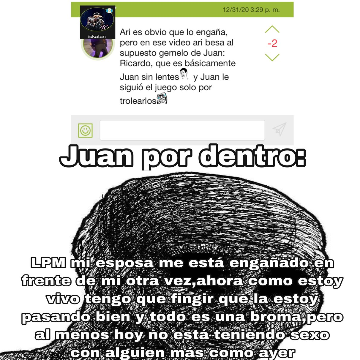 Pobre Juan                                                                https://youtu.be/miECqeONP0s - meme
