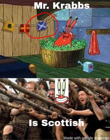Burn the british - meme