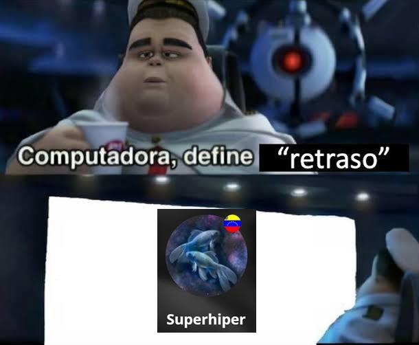 Una mierda de usuario - meme
